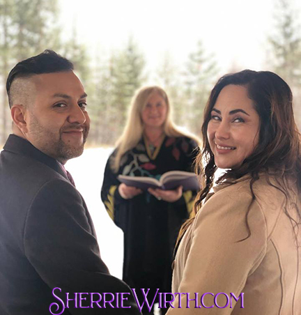 Bend, Oregon Wedding Minister - Sherrie Wirth - Wedding Officiant - Central Oregon