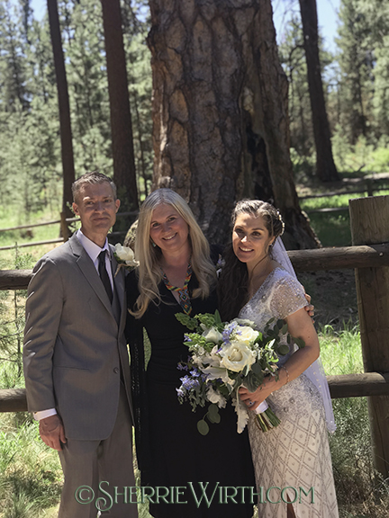 Bend, Oregon Wedding Minister - Sherrie Wirth - Weddings & Ceremonies